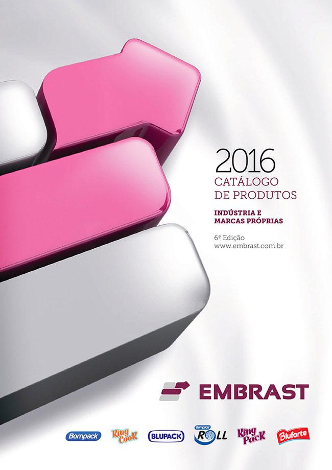 Catálogo de Produtos 2016